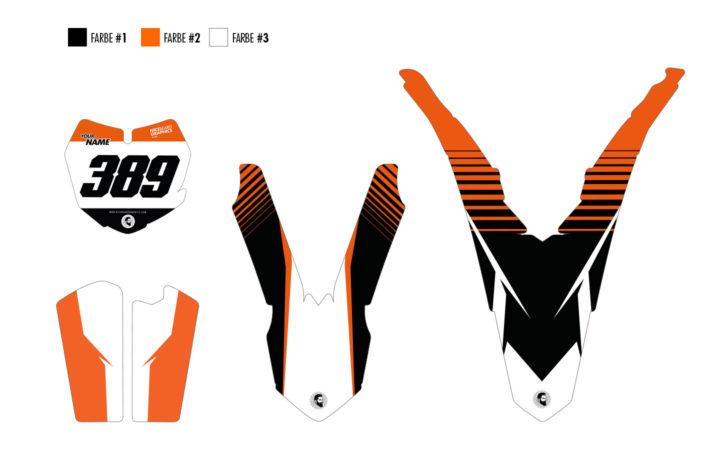 KTM Aruba Dekor Teile