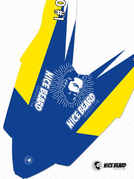 Husaberg NBG Cayman Kotflügel Detailansicht