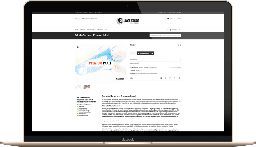 Macbook-Beklebe-Service