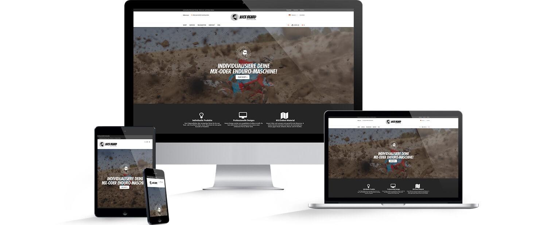 Website - alle Geräte - Responsive Ansicht