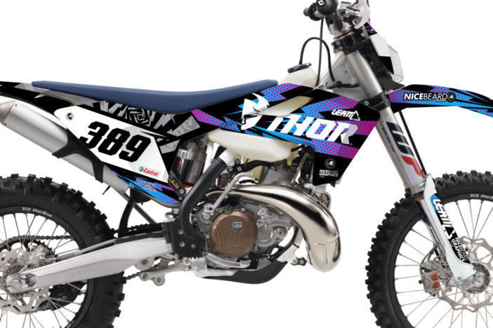 Husqvarna Thor Flash Dekor