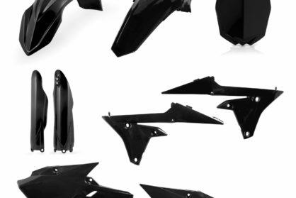 Acerbis Plastik-Kit Komplett / schwarz Yamaha