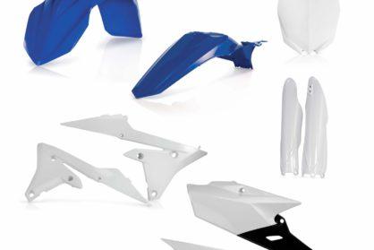 Acerbis Plastik-Kit Komplett / OEM14 blau Yamaha