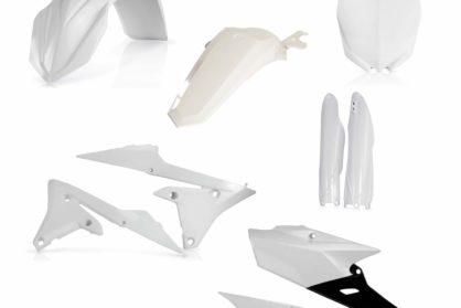 Acerbis Plastik-Kit Komplett / OEM14 weiss Yamaha