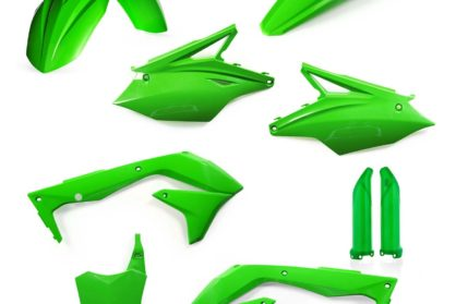Acerbis Plastik-Kit Komplett / grün Kawasaki