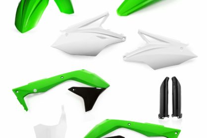Acerbis Plastik-Kit Komplett / OEM17 Kawasaki