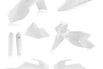 Acerbis Plastik-Kit Komplett / weiss KTM