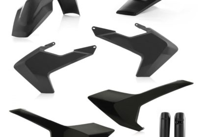 Acerbis Plastik-Kit Komplett / schwarz Husqvarna