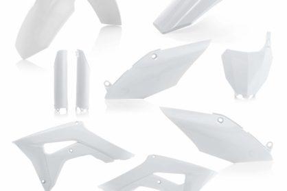 Acerbis Plastik-Kit Komplett / weiss Honda