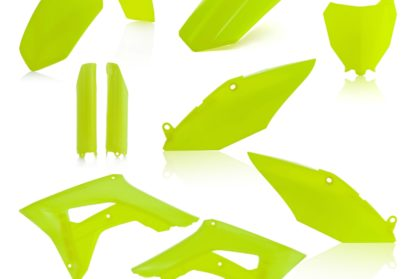 Acerbis Plastik-Kit Komplett / neon gelb Honda