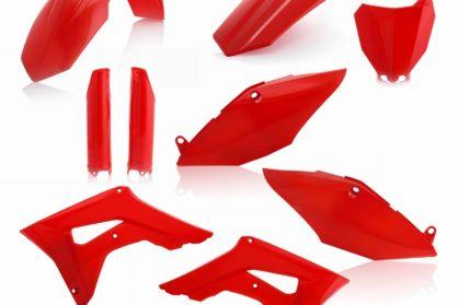 Acerbis Plastik-Kit Komplett / rot Honda