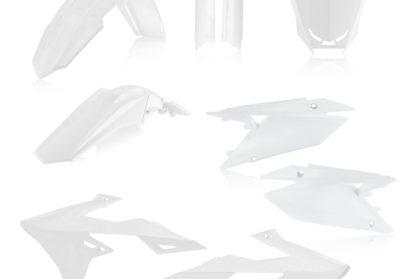 Acerbis Plastik-Kit Komplett / weiss Suzuki