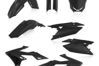 Acerbis Plastik-Kit Komplett / schwarz Suzuki