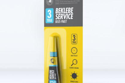 Beklebe-Service Basis-Paket