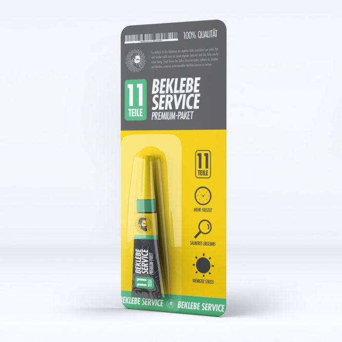 Beklebe-Service Premium-Paket