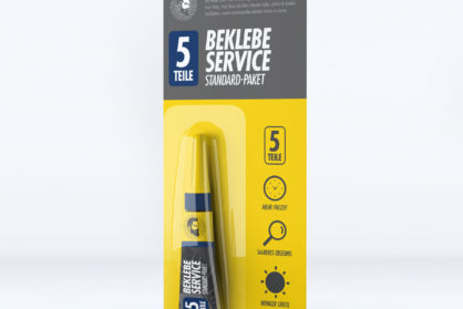 Beklebe-Service Standard-Paket