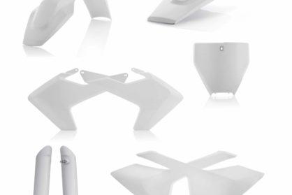 Acerbis Plastik-Kit Komplett / weiss Husqvarna FC/TC