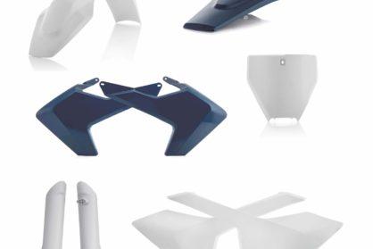 Acerbis Plastik-Kit Komplett / blau Husqvarna FC/TC