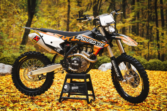Enduro.de Limited-Editon Dekor orange