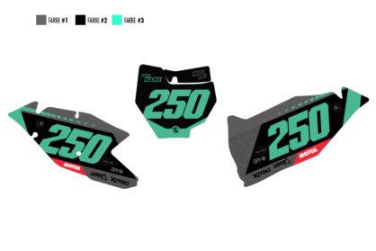 KTM Shift Nummerntafel-Set Hauptansicht
