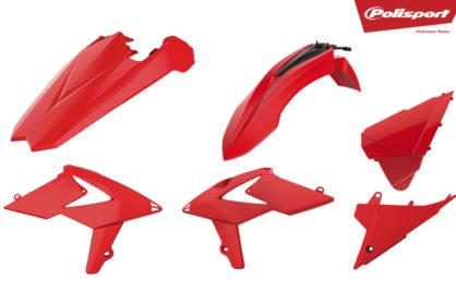 Plastikteile für deine Beta RR in rot, bestehend aus Frontkotflügel, Heckkotflügel, Tankspoiler und Seitenteilen