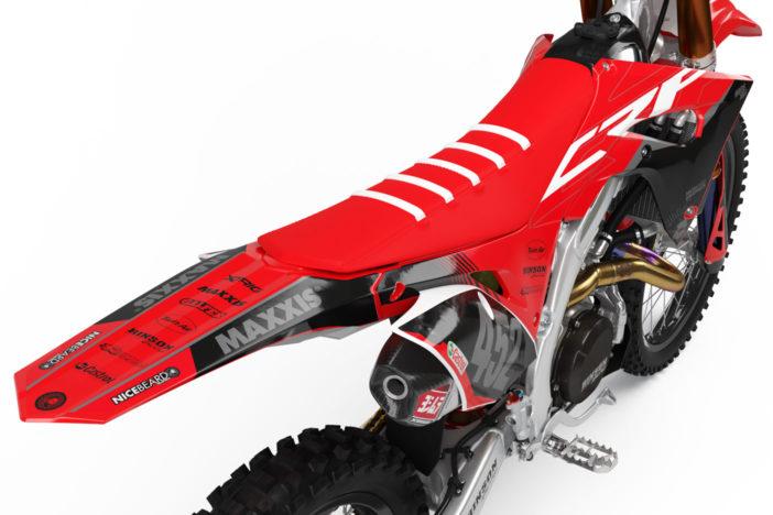 Honda CRF Gravity Dekor Hinten