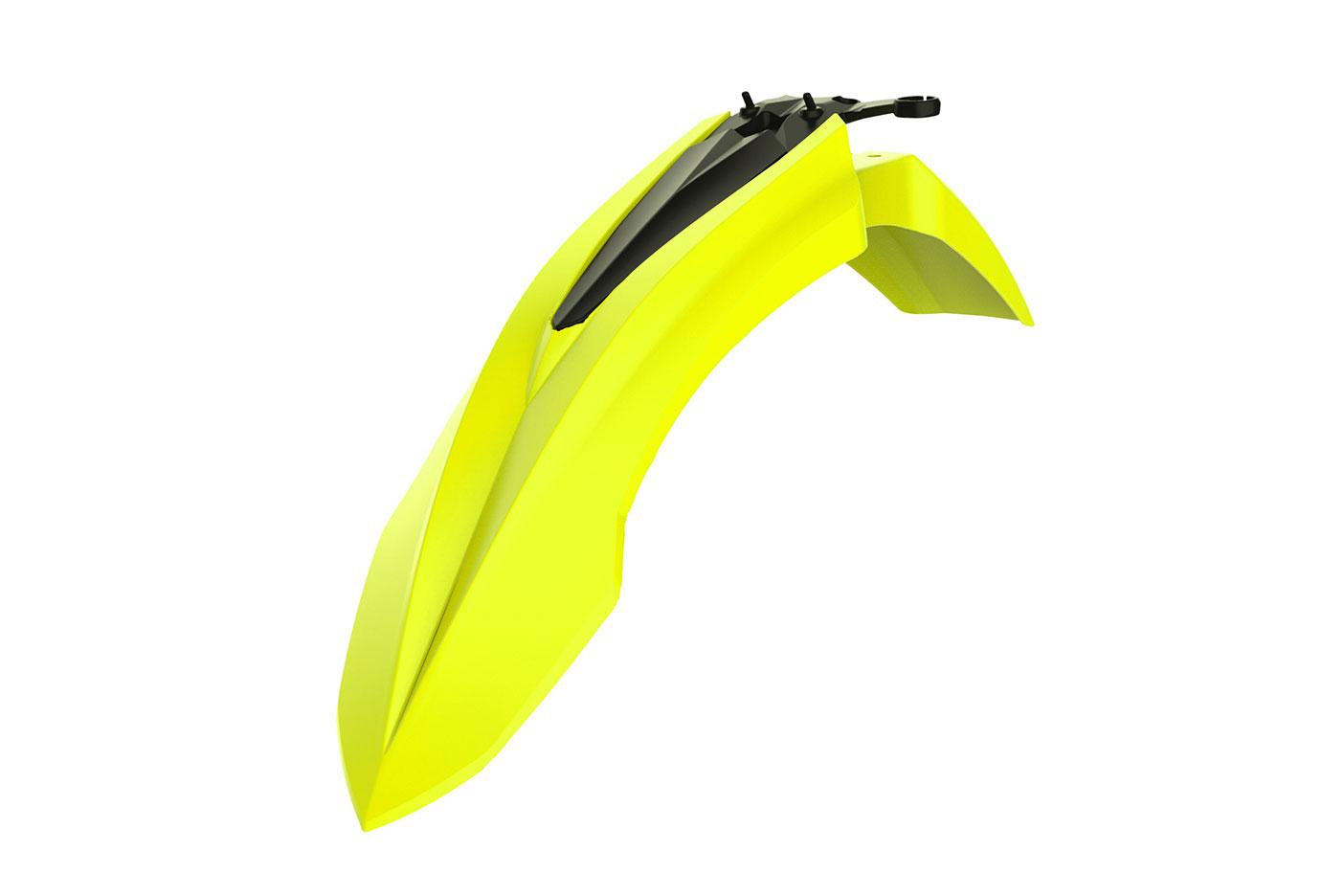 Frontkotflügel für deine Beta RR und Beta XTrainer in neon gelb