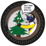 Fumas Sticker mit Baum und Enduro-Fahrer