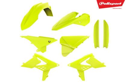 Plastikteile für deine Beta RR in neon gelb, bestehend aus Frontkotflügel, Heckkotflügel, Tankspoiler, Gabelschoner und Seitenteilen