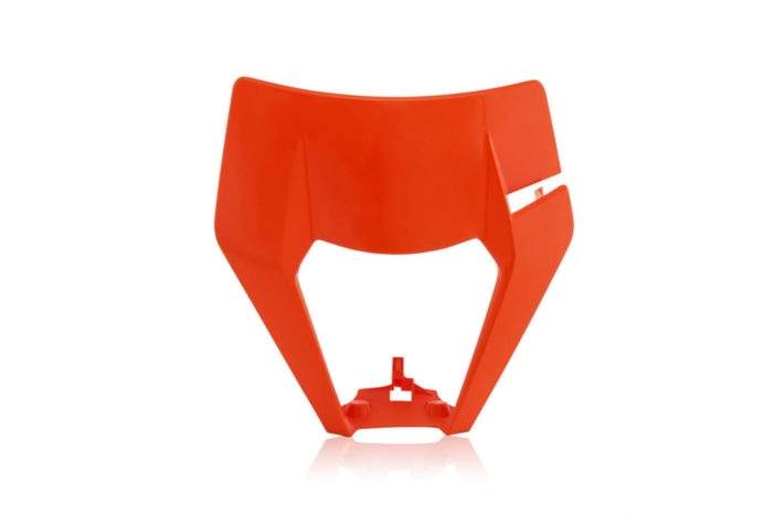 Lampenmaske für deine KTM EXC / EXCF in orange