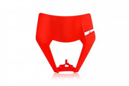 Lampenmaske für deine KTM EXC / EXCF in neon orange