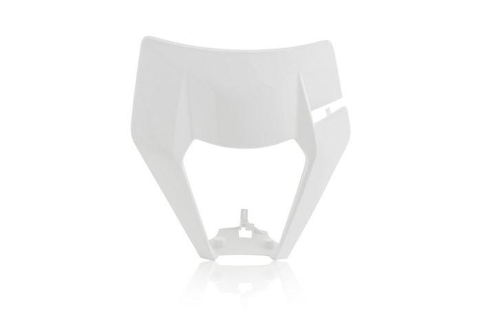 Lampenmaske für deine KTM EXC / EXCF in weiß