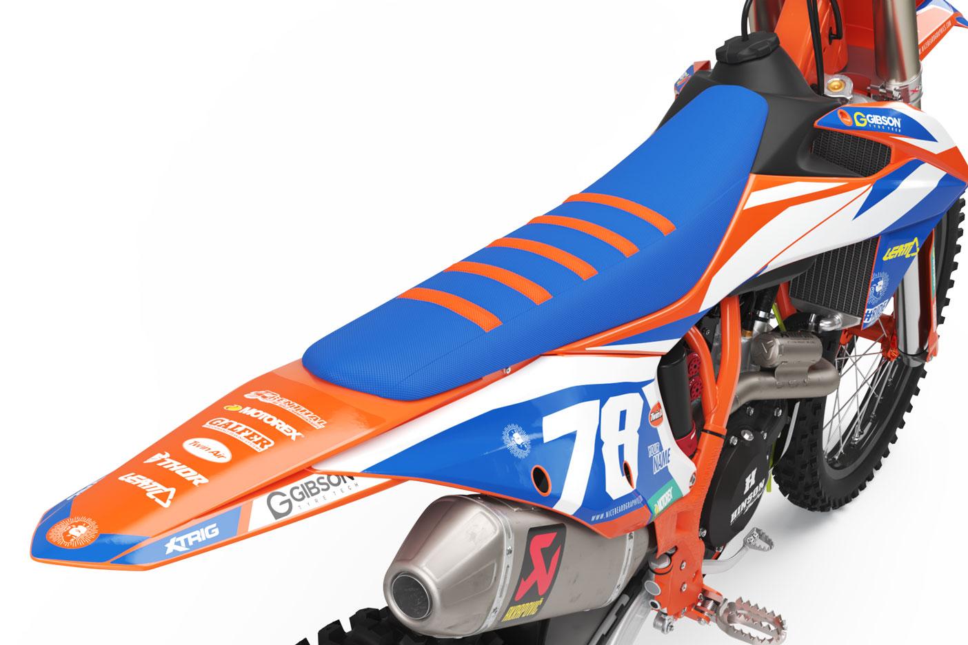 KTM Leader Dekor Heckansicht