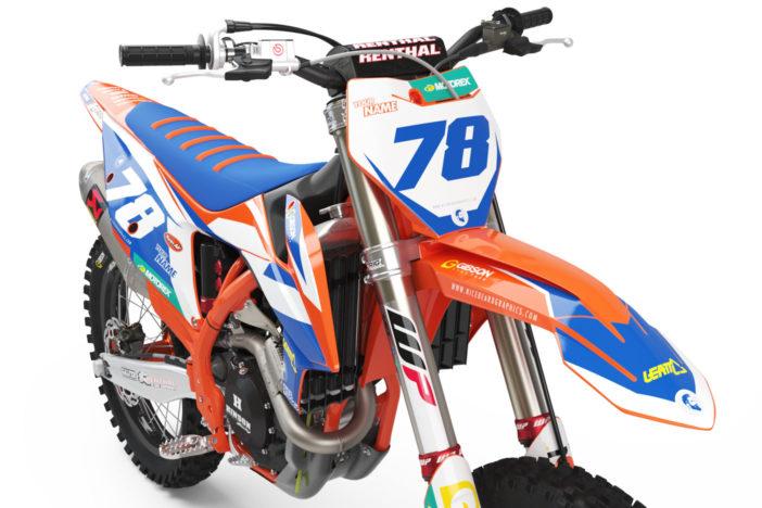 KTM Leader Dekor Frontansicht