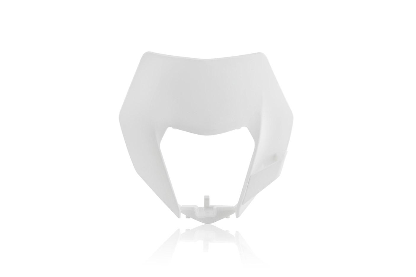 Lampenmaske für deine KTM EXC / EXCF in weiss