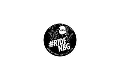 #RideNBG Sticker