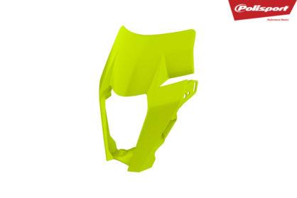 Lampenmaske für deine KTM EXC / EXC-F in neon-gelb