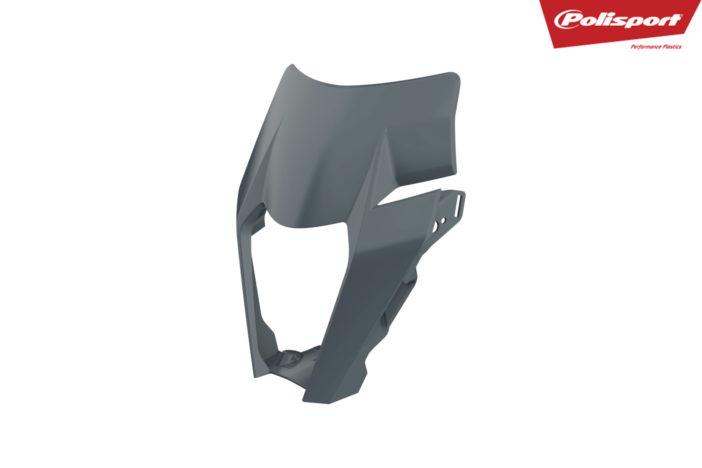Lampenmaske für deine KTM EXC / EXCF in grau