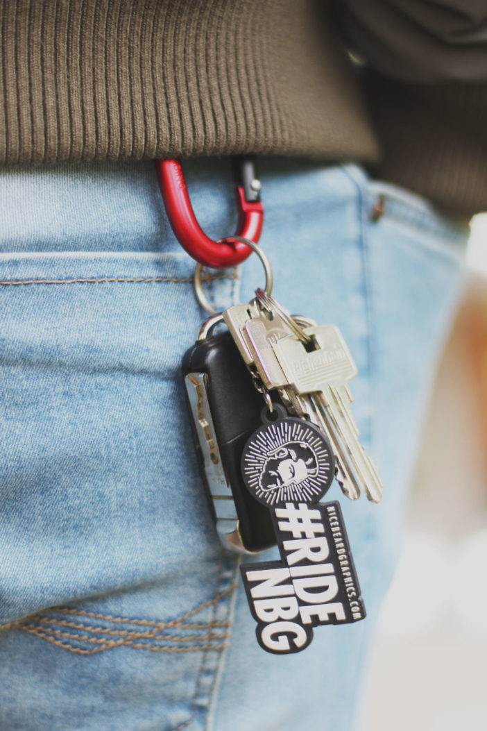 #RideNBG Schlüsselanhänger Promo