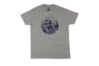 Dirt.Bike.Ride Shirt grau Front
