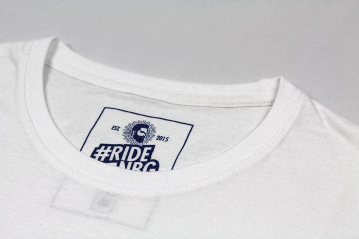 Dirt.Bike.Ride Shirt weiss Kragen