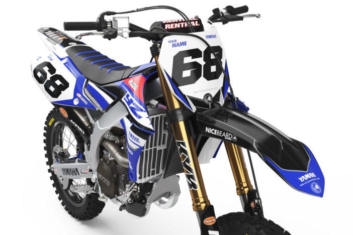 Yamaha Racing Detailansicht Front