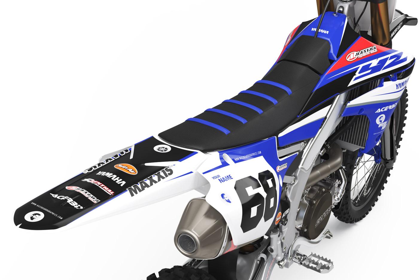 Yamaha Racing Detailansicht Heck