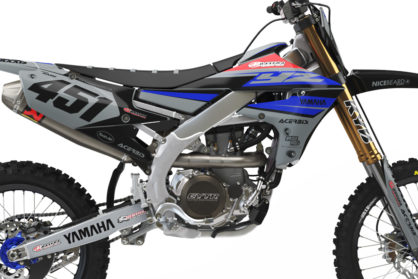 Yamaha Racing Grey Detailansicht