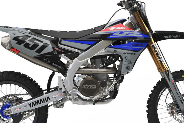 Yamaha Racing Grey Detailansicht