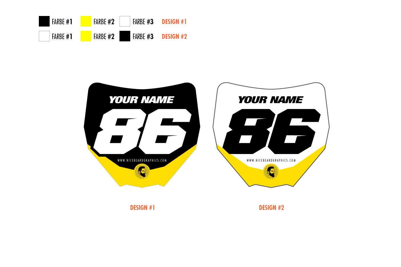 Miniplates gelb Hauptansicht