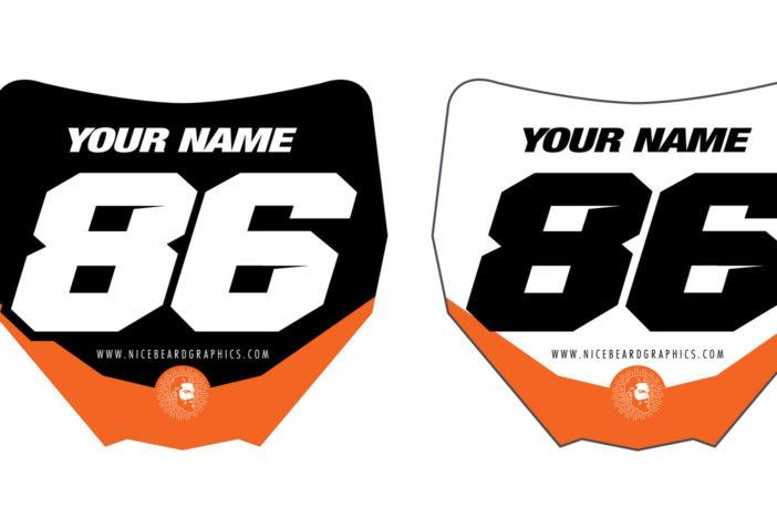 Miniplates orange Detailansicht