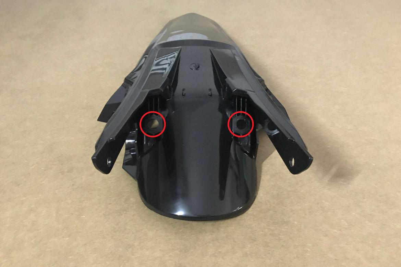 Hier erfährst du die Unterschiede bei den Plastikteilen einer KTM EXC und KTM SX