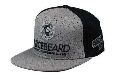 NiceBeardGraphics Buddy Flexfit-Cap Front-Ansicht