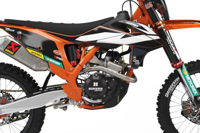 KTM Factory Dekor Detailansicht